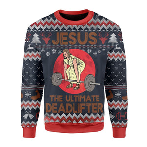 The Ultimate Deadlifter Ugly Sweater / S Kd265