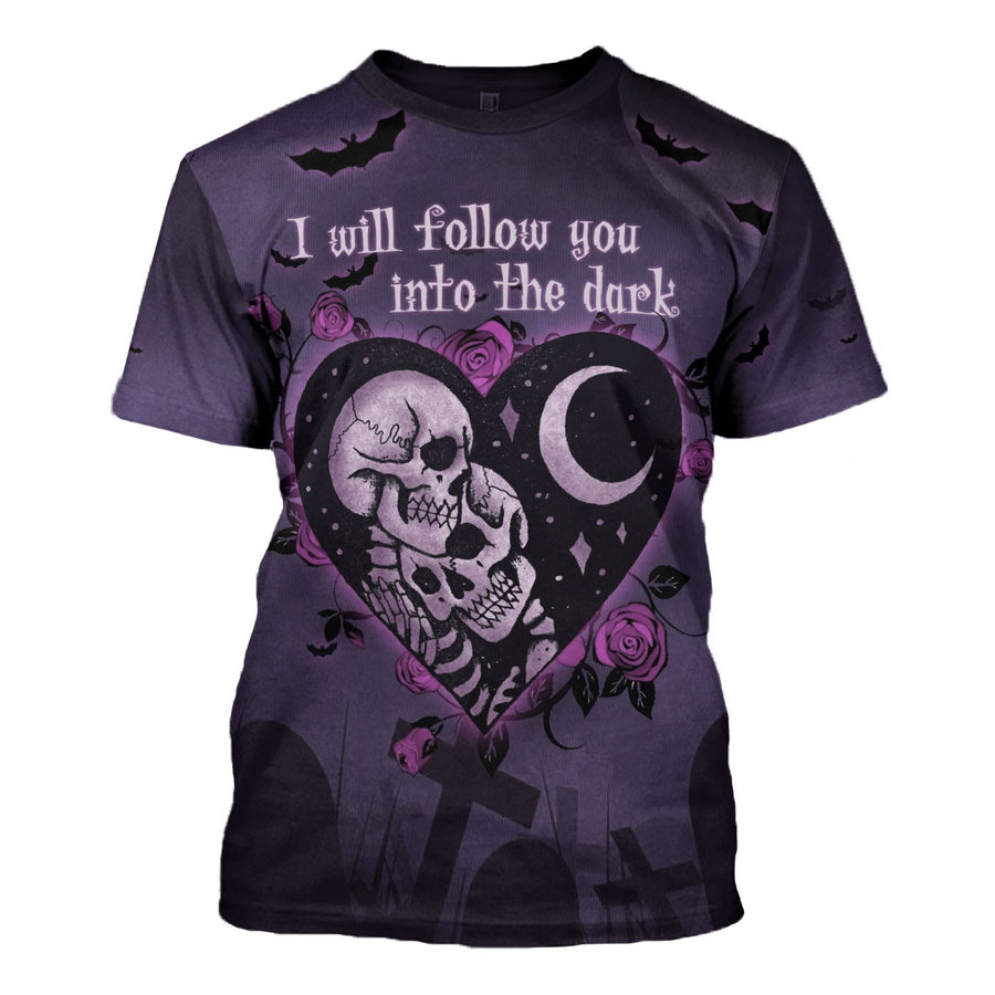 I Will Follow You Into The Dark T-Shirt / S Kd135