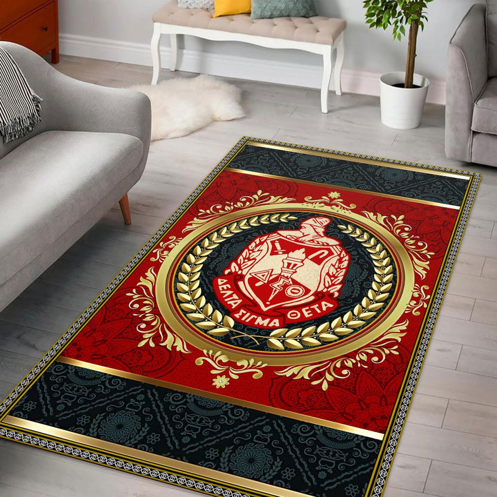 Delta Sigma Theta Rug / Small (3 X 5 Feet - 35 59 Inches) G86