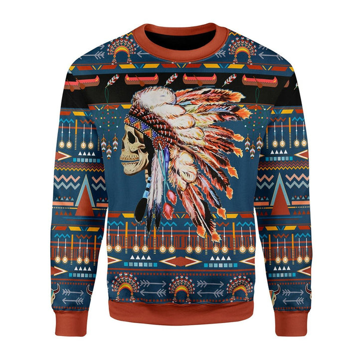 Native American Fleece Long Sleeves / S G843