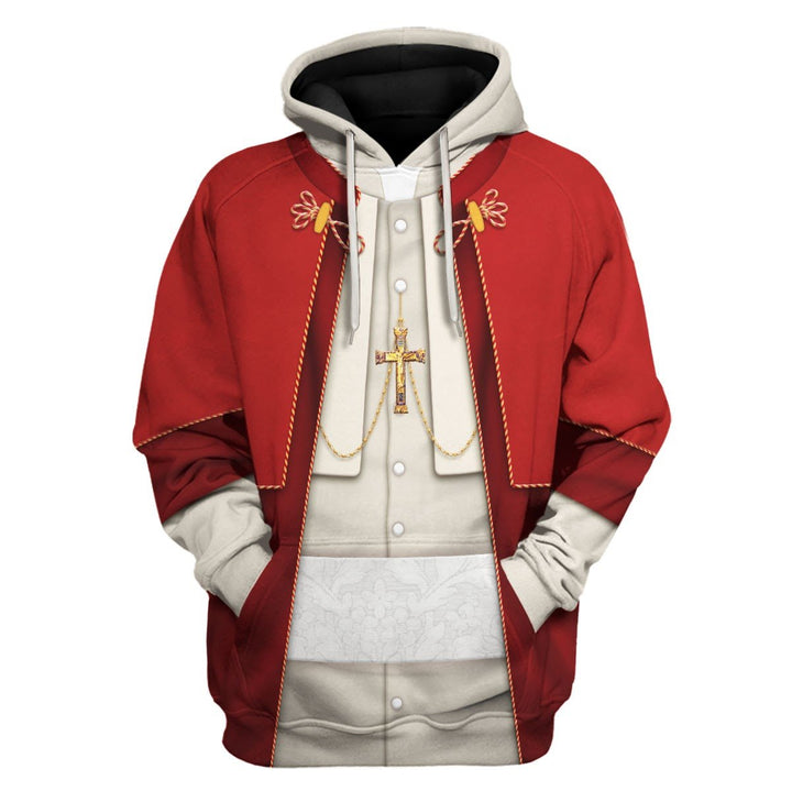 Pope Pius Xii Hoodie / S Vn351