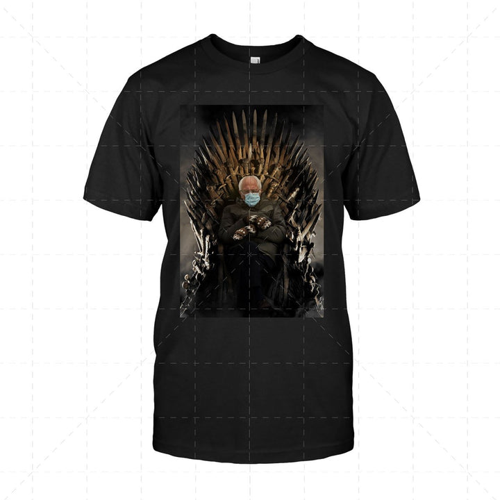 Bernie Meme Game of Thrones 2D T-Shirt