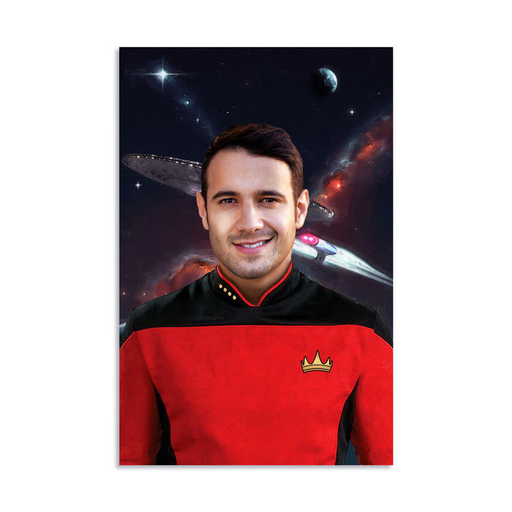 Customized Digital File - Captain Star Treck