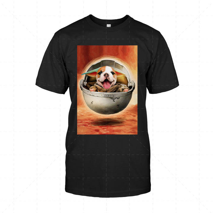 Pug Dog Baby - Custom Pet 2D T-Shirt