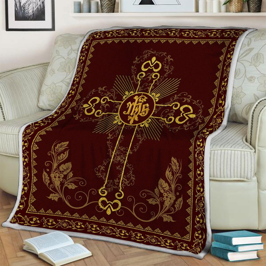 Ihs Jesus Christ Blanket / S (4 X 5 Feet - 51 59 Inches) Qm1149