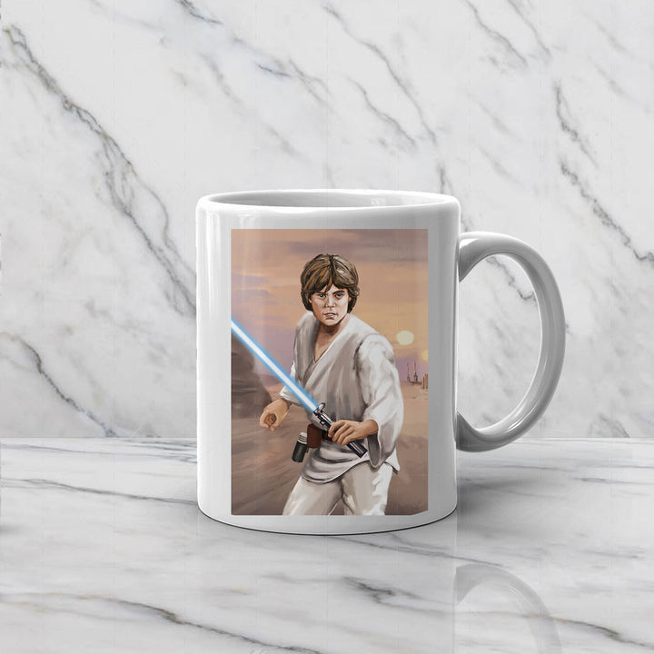 Luke Skywalker - Custom Mug