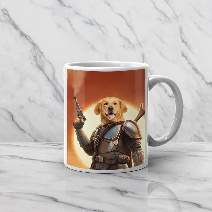The Space Hunter - Custom Pet Mug