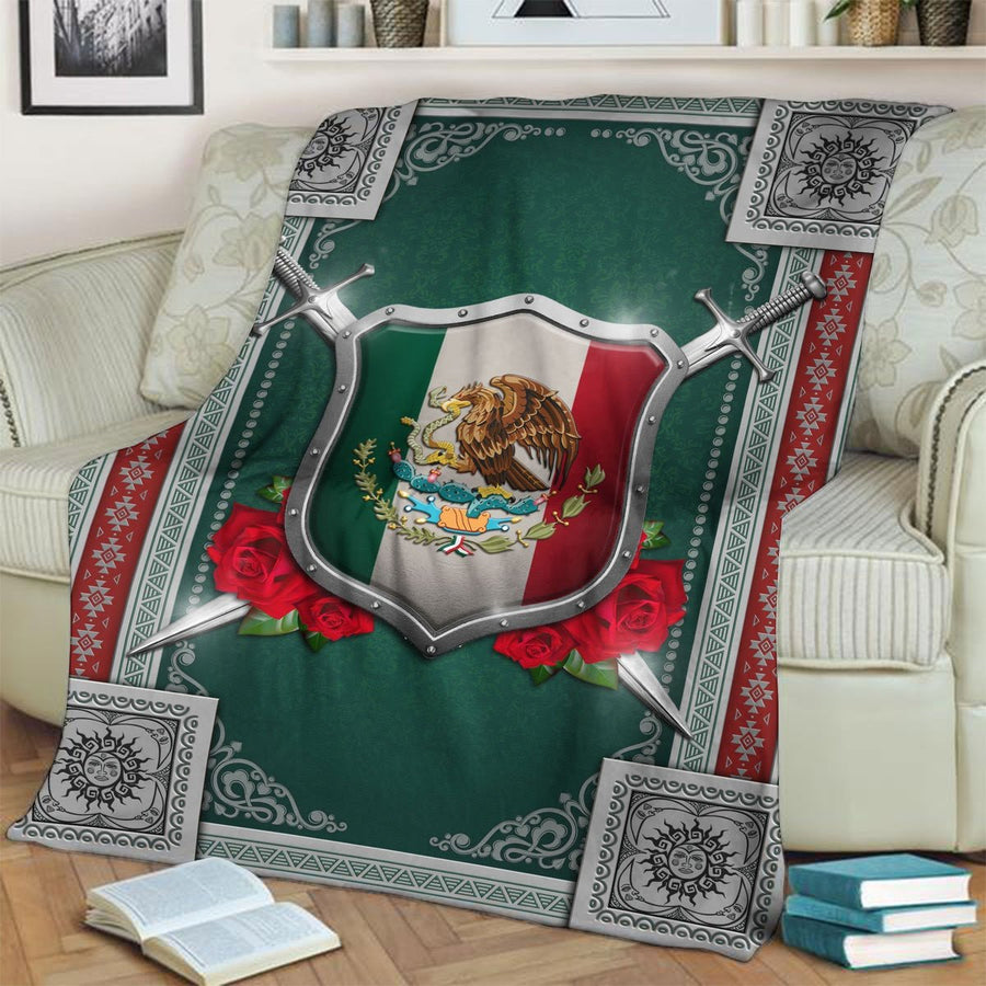 Mexico Coat Of Arms Blanket / S (4 X 5 Feet - 51 59 Inches) Qm1398