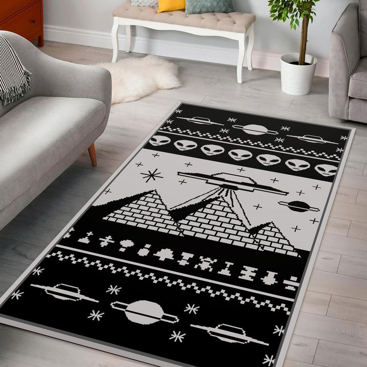Acient Allient Pyramid Rug / Small (3 X 5 Feet - 35 59 Inches) Qm1789
