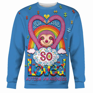 You Are So Loved Autism Awareness Kid Long Sleeves / Xs Au17222
