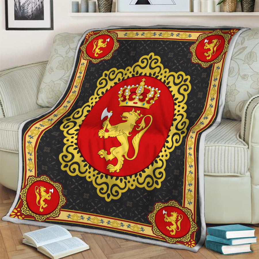 Coat Of Arms Norway Blanket Qm1602