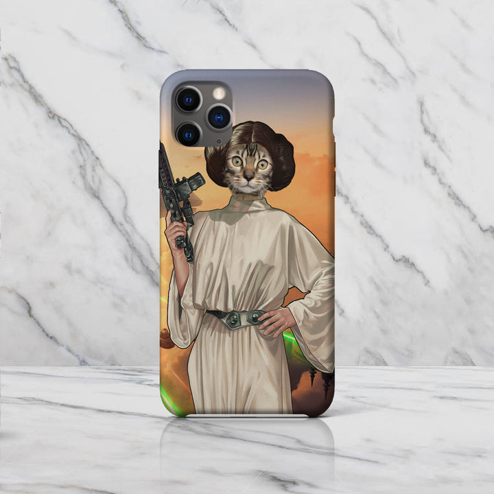 Princess Leia Custom Pet Phone Case