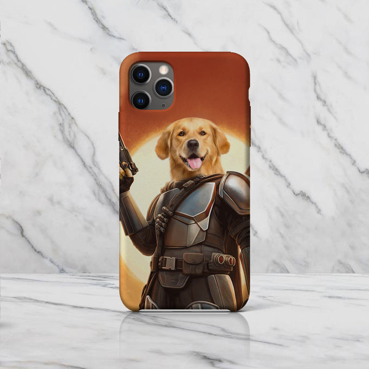The Space Hunter - Custom Pet Phone Case
