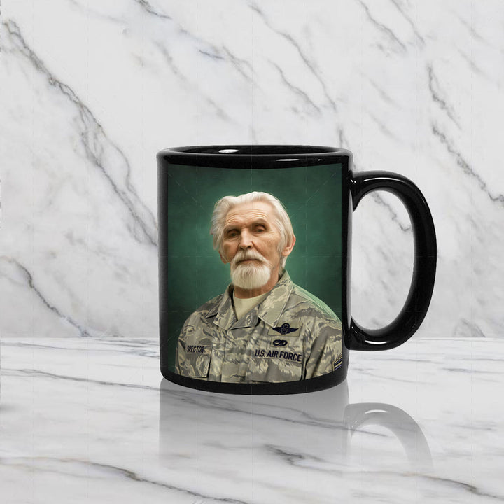 US Airforce Marine Custom Mug
