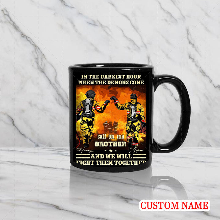 Personalized Mug - Firefighter Friends