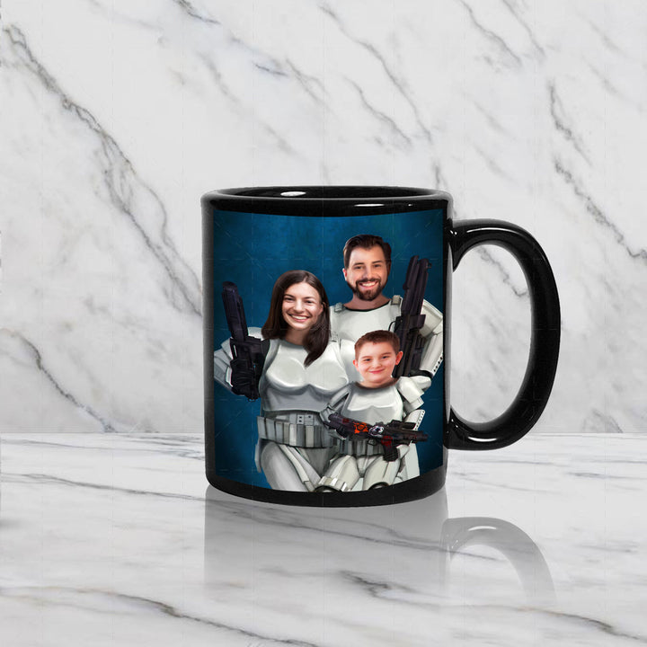 Stormtropper Family Custom Mug