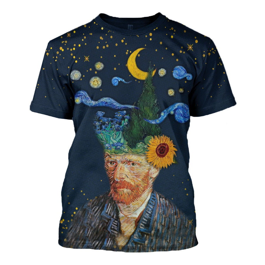 Vincent Van Gogh I Have Nature And Art Poetry T-Shirt / S Hp494