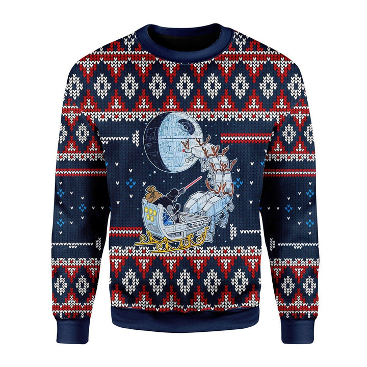 Darth Satnta Ugly Sweater / S Qm1543