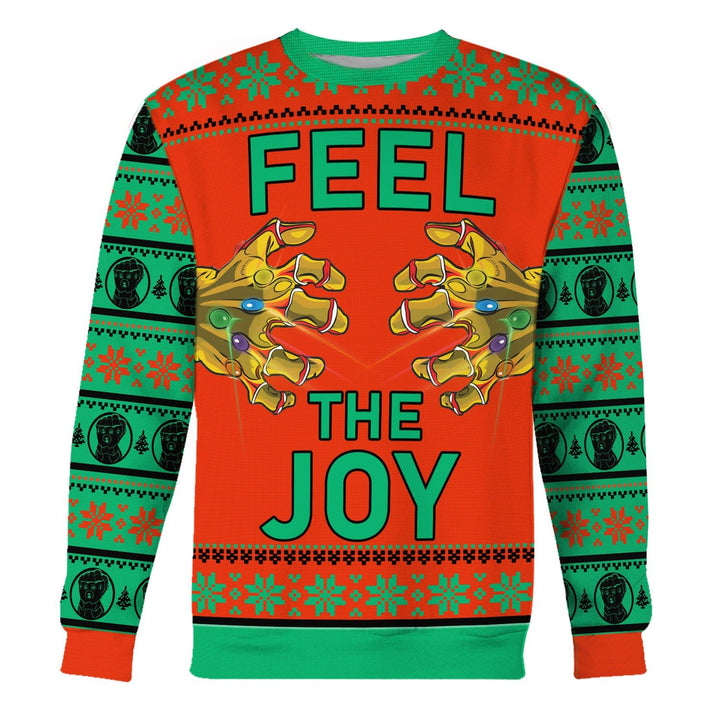 Thanos Feel The Joy Ugly Sweater / S Qm1538