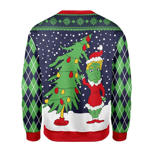Grinch Ugly Sweater Qm1653