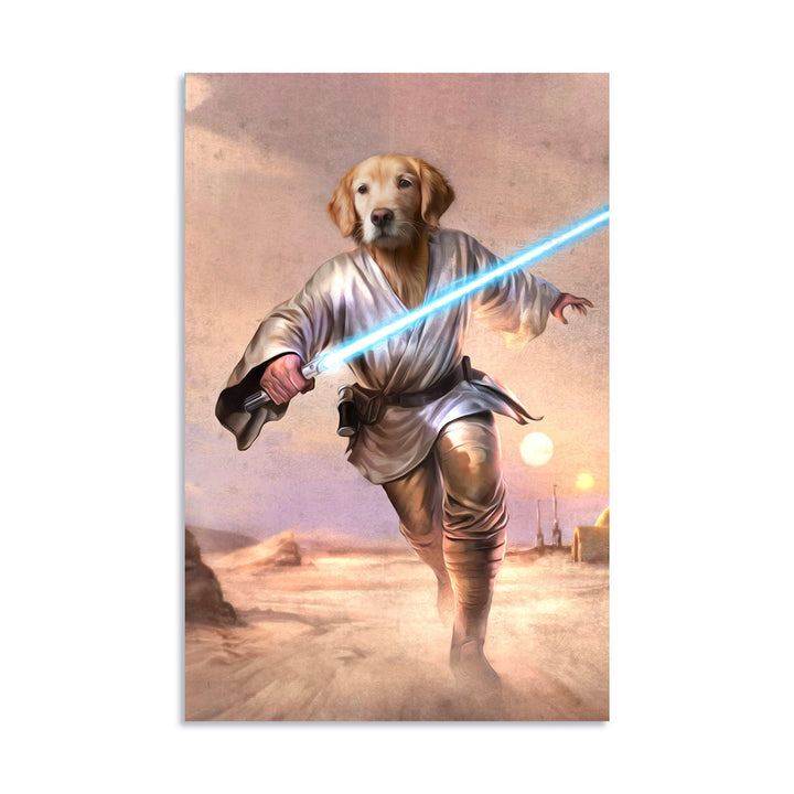 Luke Skywalker -Custom Pet Digital Portrait