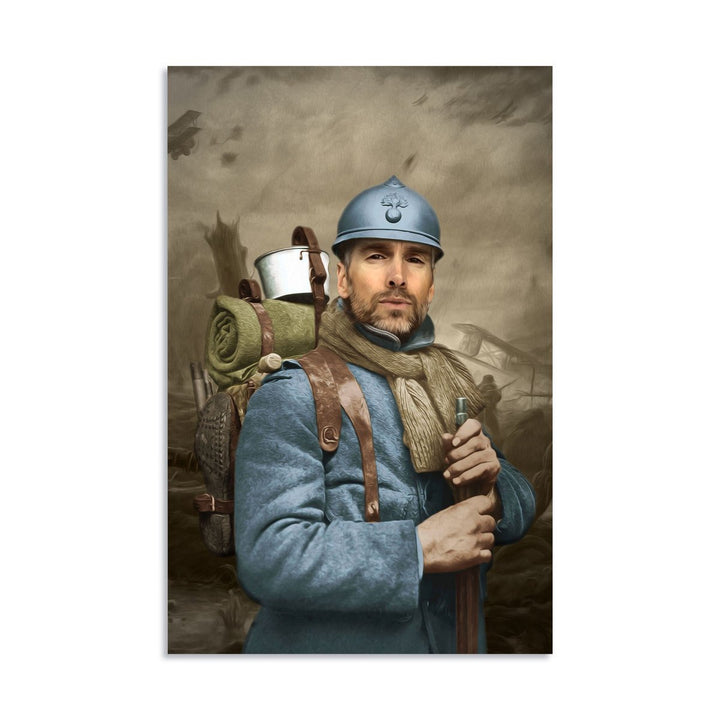 French Soldier - Digital Portrait