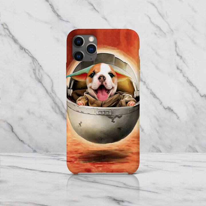 Pug Dog Baby - Custom Pet Phone Case