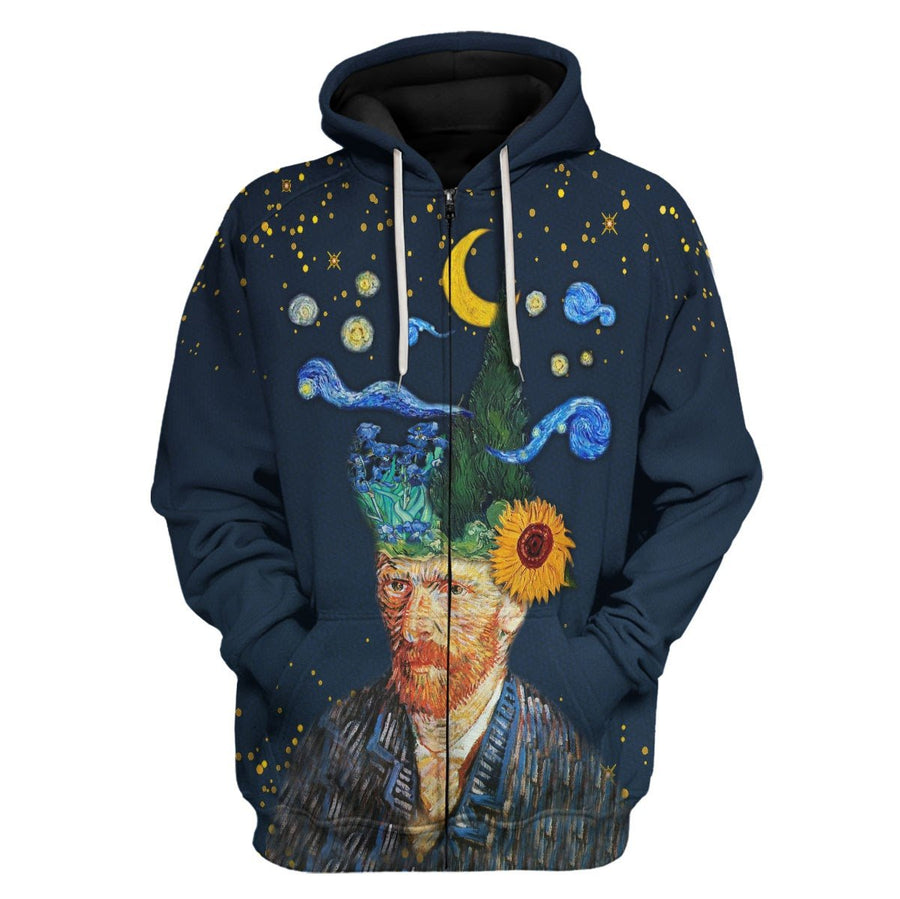 Vincent Van Gogh I Have Nature And Art Poetry Zip Hoodie / S Hp494