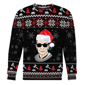 Rbg Ugly Sweater Long Sleeves / S Kd196