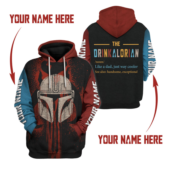 Drinkalorian Like A Dad- Custom Name