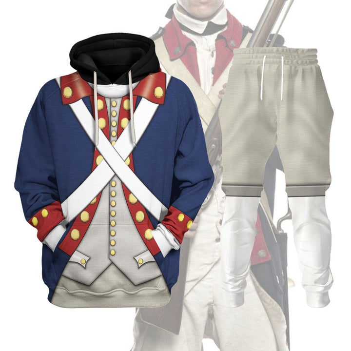 Patriot Soldier in American Revolution Tracksuit