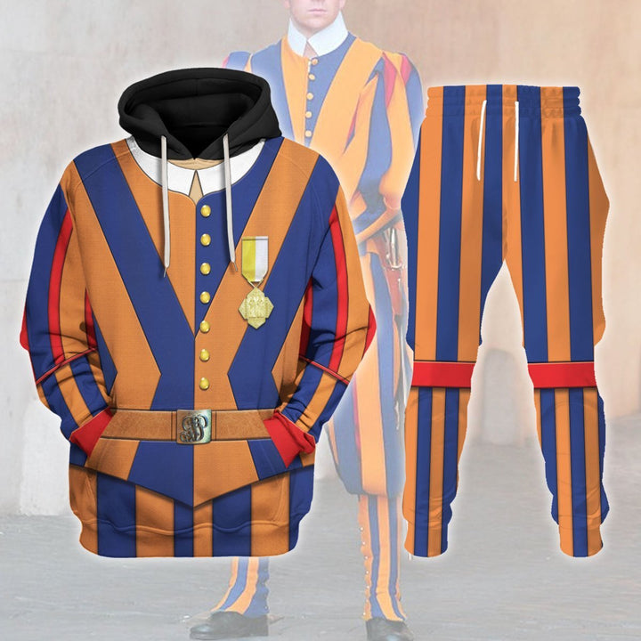 Swiss Guard Uniform Tracksuit