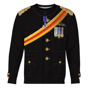 Vn518 Prince Harry Long Sleeves / S