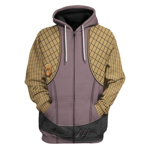 Bajoran Engineering Uniform Zip Hoodie / S Hp250