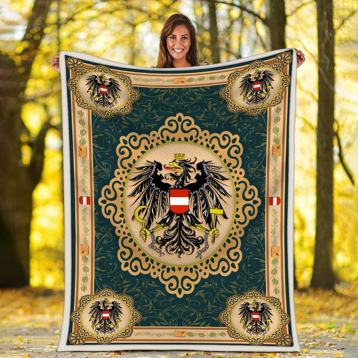 Austria Coat Of Arms Blanket / S (51 X 59 Inches - 4 5 Feet ) Qm1604