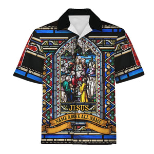 Jesus Name Above All Hawaiian Shirt / S Qm817