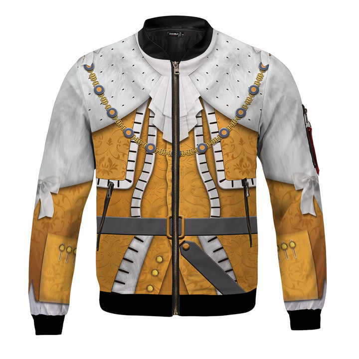 George III of the United Kingdom Bomber Jacket