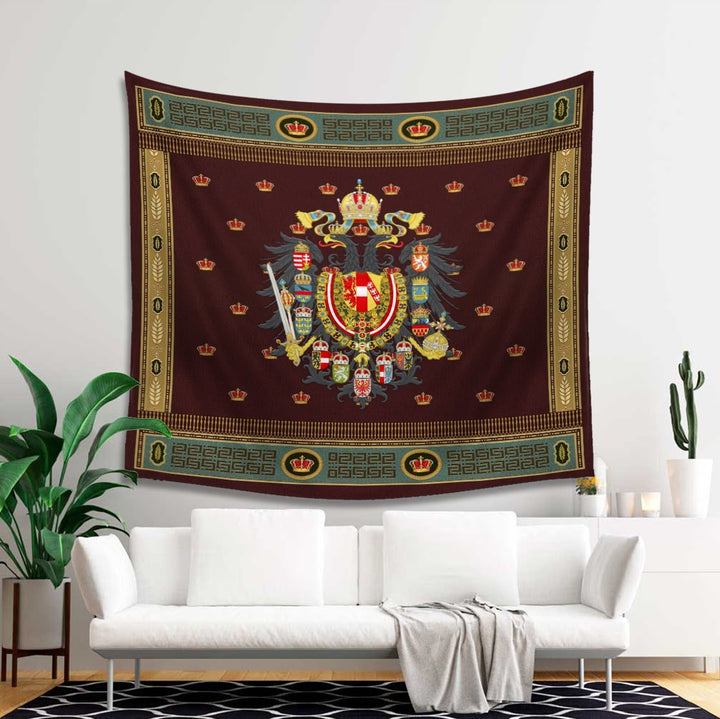 Habsburg Coat Of Arms Austria-Hungar Tapestry - 4 Holes / S (27.6 X 39.4 Inches 2.3 3.2 Feet) Qm1402