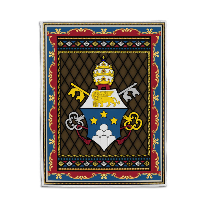 John Paul I Coat Of Arms Blanket Qm1365