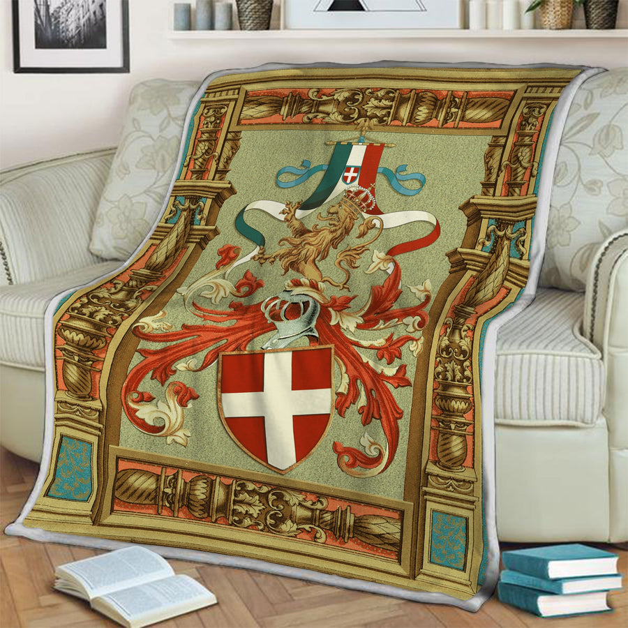 Kingdom Of Italy Fleece Blanket / S (51 X 59 Inches - 4 5 Feet ) Qm1269