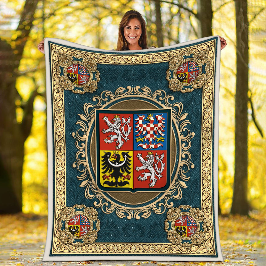 Coat Of Arms The Czech Republic Banket Blanket / S (51 X 59 Inches - 4 5 Feet ) Qm1514