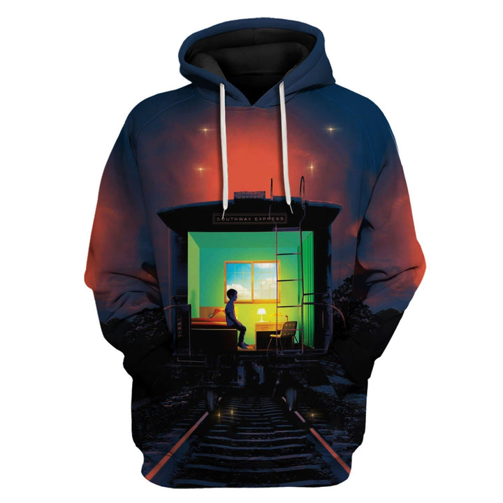 The Institute - Stephen King Hoodie / S Vn804