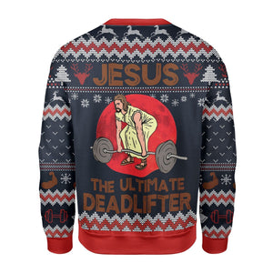 The Ultimate Deadlifter Ugly Sweater Kd265