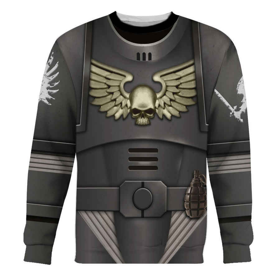 Hp417 Wh40K Ravenwing Long Sleeves / S