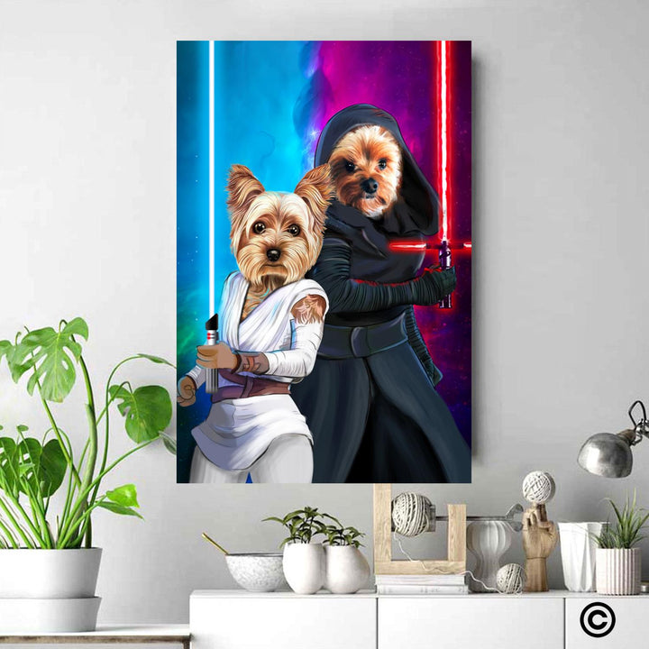 CS-ST-QM010 Personalized Photo Canvas Star Wars Home Decor