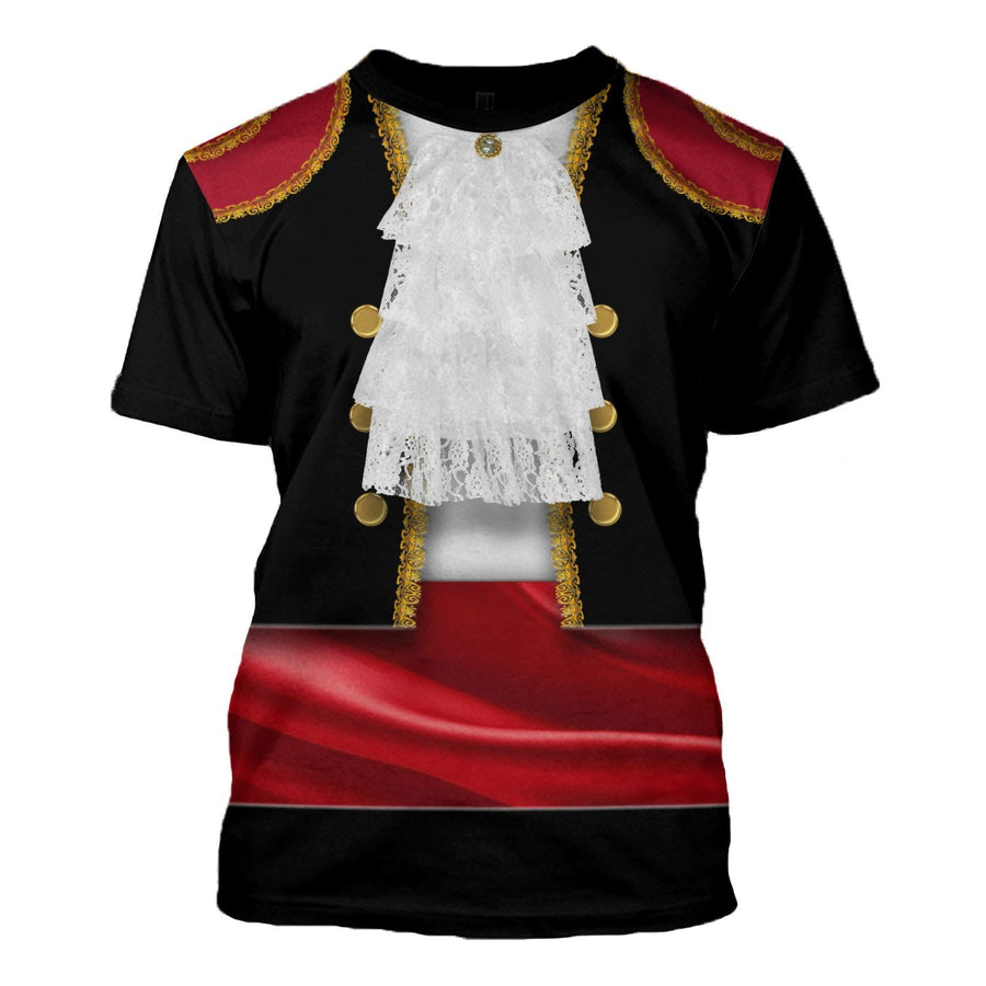 Spaniards In National Costume T-Shirt / S Vn409