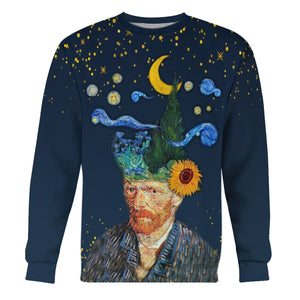 Vincent Van Gogh I Have Nature And Art Poetry Long Sleeves / S Hp494