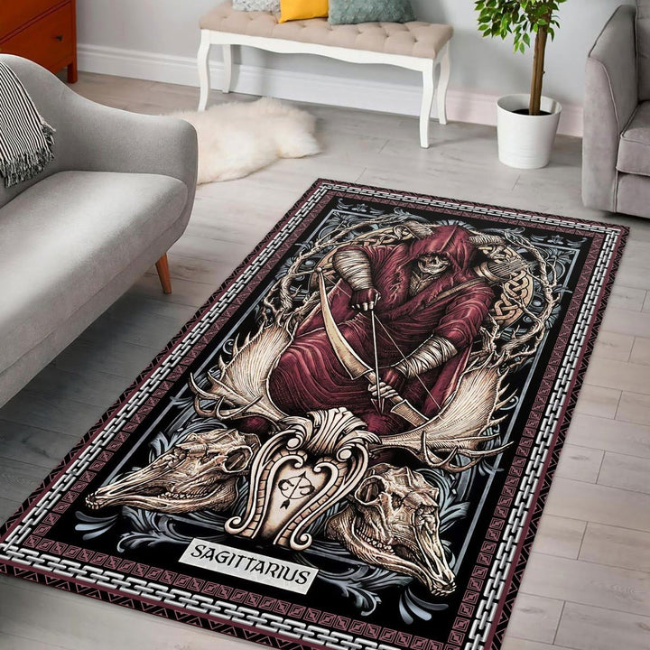Sagittarius Horoscope Rug / Small (3 X 5 Feet - 35 59 Inches) Vn883