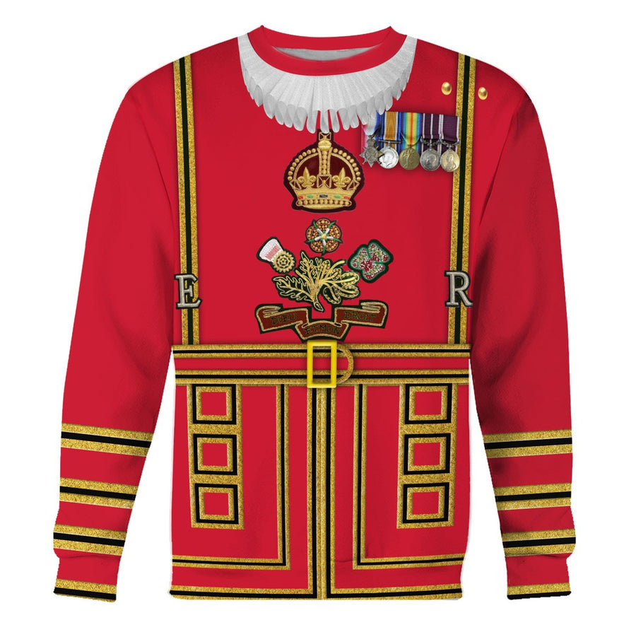 Beefeaters Tower Of London Long Sleeves / S Hp366