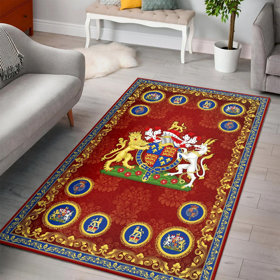 Henry V Rug / Small (3 X 5 Feet 35 59 Inches) Qm1248